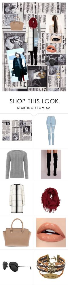 """""""SeulGi Fashion"""" by bulletproof-wolfie on Polyvore featuring Topshop, WearAll, L.K.Bennett, BP., Michael Kors, Ray-Ban and Miss Selfridge"""