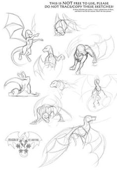 Dynamic Pose Practice by DragonOfIceAndFire on @DeviantArt