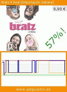 Bratz 4 Real [Importación italiana] (Juego de ordenador). Baja 57%! Precio actual 9,90 €, el precio anterior fue de 23,06 €. https://www.adquisitio.es/thq/bratz-4-real-importaci%C3%B3n