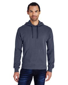 Dyed-to-match twill drawcord and jersey lined hood. Available in several colors. Hooded Sweatshirts, Hoodies, Blank T Shirts, Consumer Products, Wholesale Clothing, Hooded Jacket, Active Wear, Unisex, Pullover