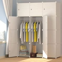 JOISCOPE MEGAFUTURE Wooden Wardrobe Closet
