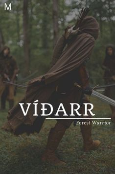 Vidarr meaning Forest Warrior Old Norse names V baby boy names V baby names Namen Fantasy Unisex Baby Names, Baby Girl Names, Baby Boy, Norse Names, Celtic Boy Names, Irish Names, Hispanic Baby Names, Strong Baby Names, Name Inspiration