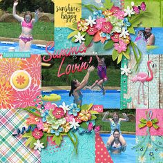Summer Lovin' Collection by Heartstrings Scrap Art & Miss Mel Templates  https://www.pickleberrypop.com/shop/product.php?productid=51469&page=1