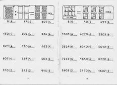Matemática: atividades de divisão para imprimir
