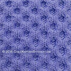 Knitting Stitches That Look The Same On Both Sides : 1000+ images about Identical reversible knitting stitches on Pinterest Stit...