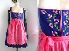 Dirndl Dress 2 pc bl
