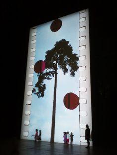 art / installation / Tacita Dean / wall / image / light