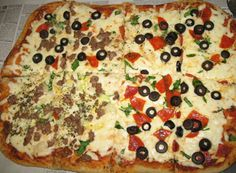 Everyday Homemaking - Pizza with Less Mess  - A section for each person!  page 30