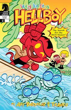 Itty Bitty Hellboy: The Search for the Were-Jaguar #1 Hellboy, Abe, Liz, and friends are on a very special quest . . . to deliver underwear to the Island of Rogers! But their mission is suddenly interrupted by the discovery of the strange, mysterious beast known as the were-jaguar!