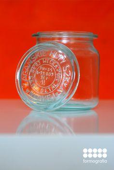 vintege polish weck jar