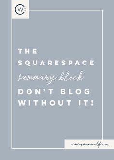 Even though the original intention of Squarespace was not to be a powerful blogging platform, they have listened and responded to their users which in turn has really stepped up their game when it comes to the blogging world. They might not be shutting down Wordpress anytime soon, but a