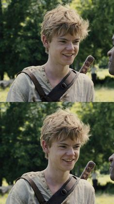 Thomas Brodie-Sangster as Newt Maze Runner Thomas, Maze Runner Cast, Maze Runner Movie, Maze Runner Series, Gally Maze Runner, Dylan Thomas, Thomas Brodie Sangster, Movies And Series, Book Series