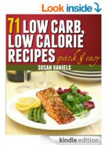 Three different low carb recipe books in today's cheap Kindle cookbooks 3/20/14: Lunch, no cook, and low calorie.