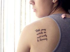 Discover and share Beatles Quotes Tattoos. Explore our collection of motivational and famous quotes by authors you know and love. Tattoos For Women Half Sleeve, Best Tattoos For Women, Trendy Tattoos, New Tattoos, Girl Tattoos, Small Tattoos, Tattoos For Guys, Short Quote Tattoos, Tattoo Quotes For Women