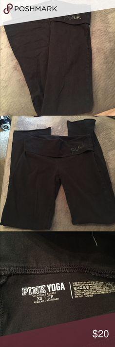 VS PINK yoga Victoria secret yoga pants. Boot cut. Cheaper on Ⓜ️ PINK Victoria's Secret Pants Boot Cut & Flare