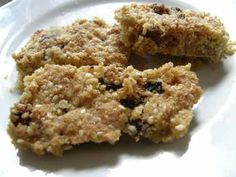 Hirse flapjacks (carb day)