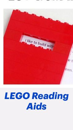 Educational Activities, Learning Activities, Kindergarten Readiness, Cool Diy Projects, Toddler Preschool, Fun Learning, Lego, Reading, Homeschooling