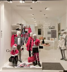 Grant windows 2014 Fall, Milan – Italy window display