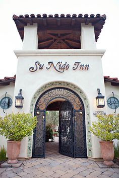 Spanish details at Su Nido Inn | The Gather Guide to Ojai