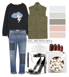 """~☆~"" by bluveraa ❤ liked on Polyvore featuring Zara, Current/Elliott, women's clothing, women, female, woman, misses and juniors"