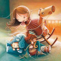 illustration of Adventure, Animals, Children, Children's Books, Fantasy, Leisure, Science, Sci-Fi, Toys & Games, Lifestyle