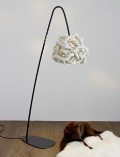 Knitted Lampshades By Hannahnunn, Via Flickr | Lamps DIY | Pinterest | Lamps,  Design And Lampshades