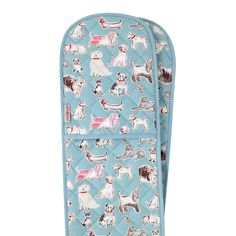 Protect hands when handling hot dishes with our classic, thickly-quilted cotton double oven gloves. This set comes in cute Squiggle Dogs print, with many matching cat and dog items available. Oven Glove, Dog Items, Cath Kidston, Hunting Dogs, Dog Design, Making Out, Bleach, Dog Cat, Gloves
