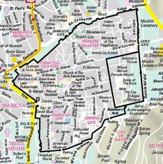 Maps jerusalem holy city for three world religions diercke street map for old jerusalem gumiabroncs Image collections