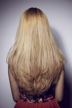 layered hair long