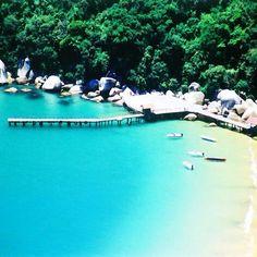 Praia de Laranjeiras em Balneário Camboriú, SC