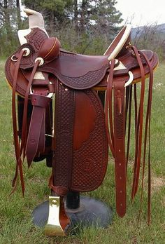 The most important role of equestrian clothing is for security Although horses can be trained they can be unforeseeable when provoked. Riders are susceptible while riding and handling horses, espec… Wade Saddles, Roping Saddles, Horse Saddles, Western Horse Tack, Western Riding, Horse Riding, Western Saddles, Equestrian Boots, Equestrian Outfits