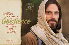 Jesus set the example of obedience.