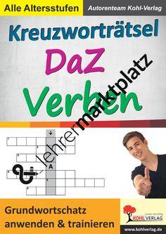 Kreuzworträtsel DaZ - VERBEN – D.a.F. / D.a.Z.