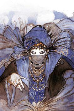 The Arabian Nights vol.2 | Yoshitaka Amano