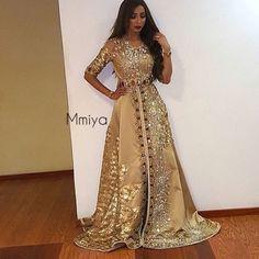 dress, moroccan, and caftan image