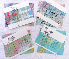 Stop by a Gelli Print Blog Hop for a how to and Giveaways! (giveaway ends 10/28/14)