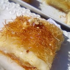Greek Sweets, Greek Desserts, Kinds Of Desserts, Greek Recipes, Non Chocolate Desserts, Trifle, Macaroni And Cheese, Sweet Tooth, Dessert Recipes