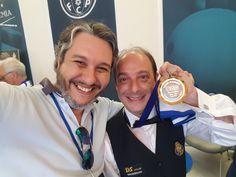 Com o tetra campeão do mundo Daniel Sánchez!