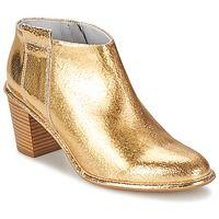 Topánky Ženy Nízke čižmy Miista ANAIS Zlatá / CRAQUELE