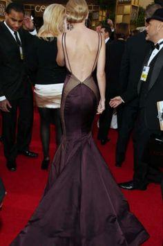 """Taylor Swift wearing Donna Karan at the """"Golden Globe Awards"""" jan 13th 2013......stunning."""