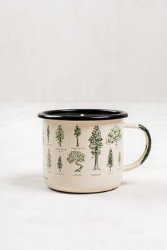Evergreen Enamel Steel Mug Candle   United By Blue - 4