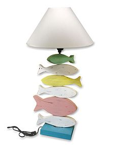 Loving this Multicolor Fish Lamp on #zulily! #zulilyfinds