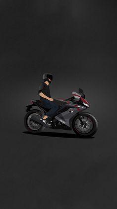 R15 Yamaha, Yamaha Bikes, Yamaha Logo, Yamaha Rx100, Yamaha Motorbikes, Ktm Motorcycles, Dirt Bike Tattoo, Bike Tattoos, Tracker Motorcycle