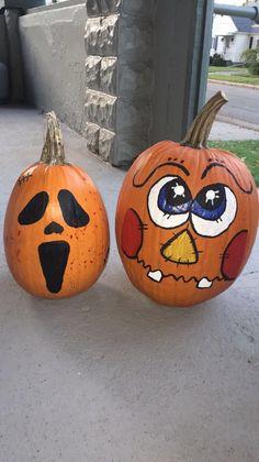 Halloween Pumpkin Face Ideas
