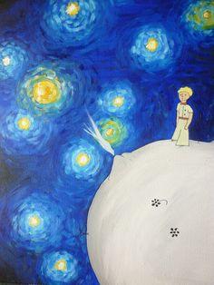 El Principito Van Gogh, por C-h-a-r-l-i