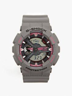 Casio G-Shock Pink Colour Sport GA-110TS-8A4ER Watch | oki-ni