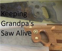 Picture of Keeping Grandpa's Saw Alive
