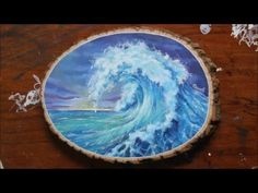 Published on February 24, 2016. This is a speed drawing video. Done with acrylic paint and Molotow Pens on wood. Hope you enjoy! Please like and subscribe, h...