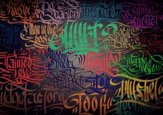 Calligraphy Storm | Flickr - Photo Sharing!