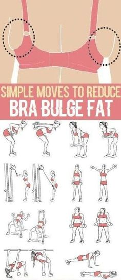 Simple moves to reduce bra bulge fat